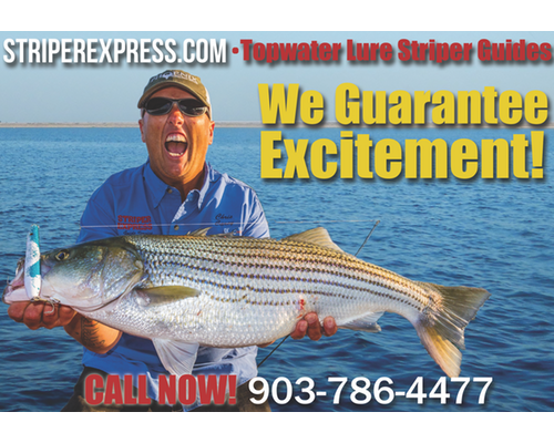 Striper Fishing Lures | Freshwater Striper Lures
